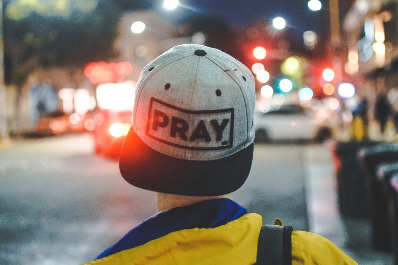 pray first hat